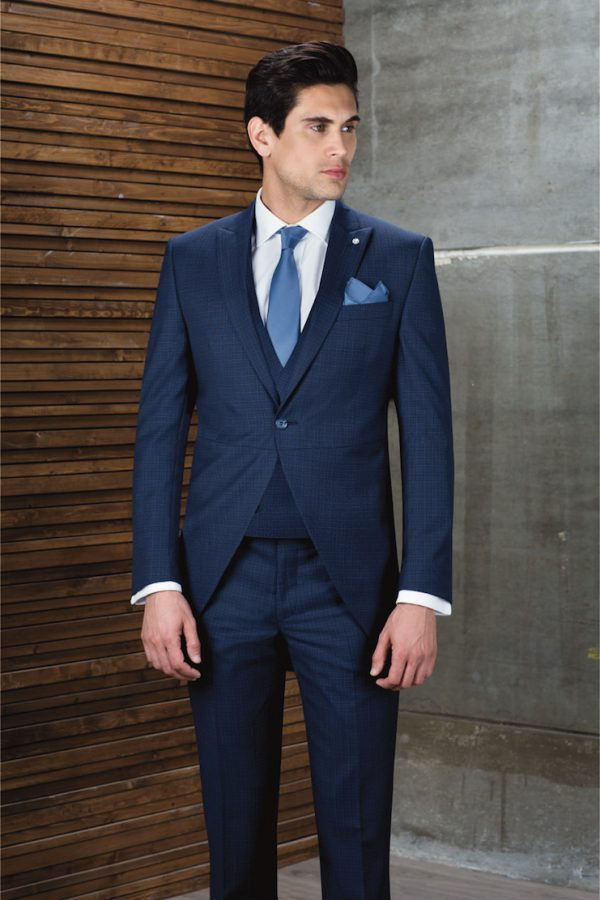 Hochzeitsanzug in blau